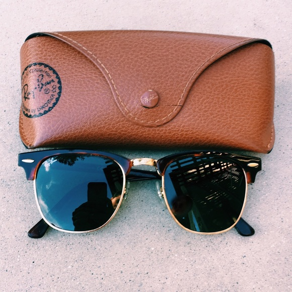 Ray-Ban Accessories   Rayban Clubmaster Tortoise Green Classic G15 ... d1c0ae003b